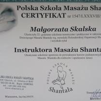 Instruktor Masażu Shantala
