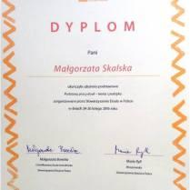 Dyplom Stowarzyszenie Doula w Polsce