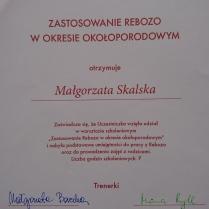Zastosowanie rebozo w okresie okołoporodowym - dyplom