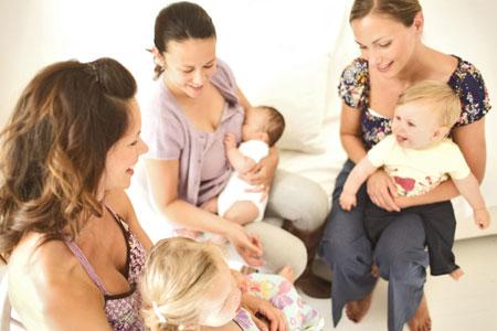 Klub Młodej Mamy - zajęcia dla młodych mam i kobiet w ciąży